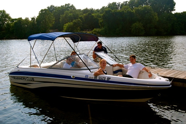 Rocketts Landing Marina, Carefree Boat Club of Richmond, James River