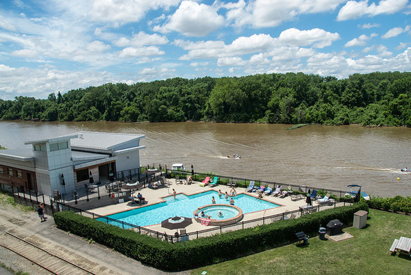 Seize your chance to own a home with river views at for Richmond gardens pool